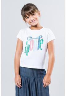 Camiseta Infantil Sorte Reserva Mini Feminina - Feminino