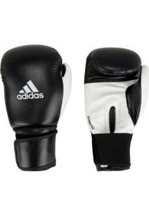 Luvas De Boxe Adidas Power 100 Smu Colors - 12 Oz - Adulto - Preto/Branco