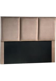 Cabeceira Casal Fit Vancouver-Sono Design - Marrom