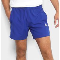5e74309a95a Bermuda Adidas Ess 3S Chelsea Masculina - Masculino-Azul