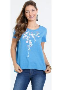 Blusa Feminina Estampa Floral Marisa