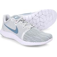 e2968a5955d82 Tênis Nike Flex Contact 2 Feminino - Feminino-Branco+Azul Petróleo