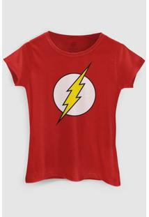Camiseta Dc Comics The Flash Bandup! - Feminino