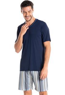 Pijama Masculino Curto Clóvis