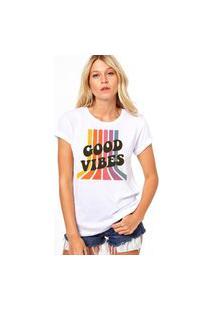 Camiseta Coolest Good Vibes Branco