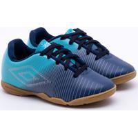 37e759e989 Chuteira Futsal Umbro Vibe Indoor Infantil 30