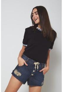 Camiseta Oh,Boy! Frase Feminina - Feminino