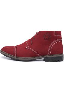 5e7514604a Bota Coturno Masculino Top Franca Shoes C/ Ziper Bordo