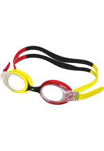 Óculos De Natação Infantil - Quick Junior - Vermelho - Amarelo - Speedo