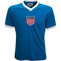 Camisa Liga Retrô Estados Unidos 1934 - Masculino f4a317b159be5
