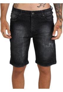 Bermuda Mcd Jeans Slim Masculina - Masculino