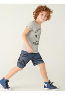 Conjunto Infantil Menino Com Camiseta