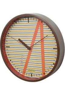 Relógio De Parede Plástico Chaves