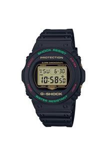 Relógio Casio Digital G-Shock Protection - Dw-5700Th-1Dr Preto