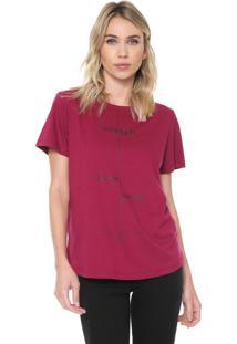Camiseta Forum Inspiração Vinho