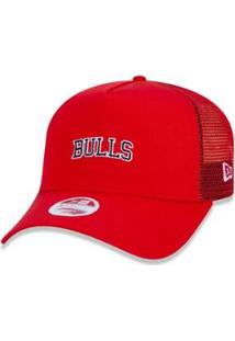 Boné New Era 940 Chicago Bulls Nba Aba Curva - Feminino