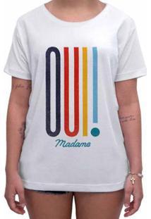 Camiseta Impermanence Estampada Madame Feminina - Feminino