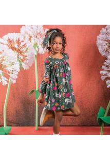 Vestido Infantil Nanai Meia Malha 600413.5515.4