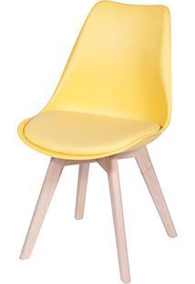Cadeira Eames Eifeel Botone Or-1108– Or Design - Amarelo