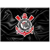 1d391c935de2 Fut Fanatics. Imã Corinthians Bandeira Escudo Ondulada