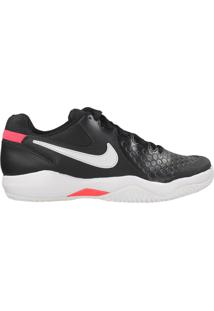 Tênis Nike Air Zoom Resistance Tennis Preto/Branco - 38