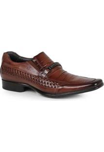 Sapato Social Masculino Rafarillo Transpassado Mar