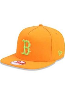 4779caad8e Bone 950 A-Frame Boston Red Sox Mlb Aba Reta Laranja New Era
