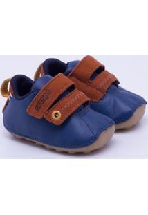 Sapato Ortopé Baby Infantil - Masculino-Azul