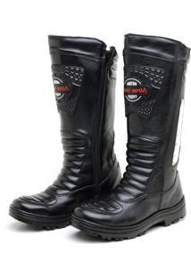 6eef618fbf Dafiti. Bota Atron Shoes Cano Alto Preto