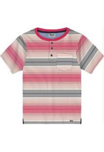 Camiseta Trick Nick Rosa