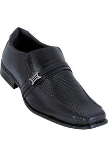 Sapato Preto Em Sintético