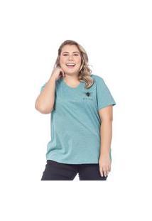 T-Shirt Feminina Bee Kind Preto (30001) G Verde