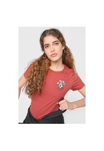 Camiseta Volcom Flowers Vermelha