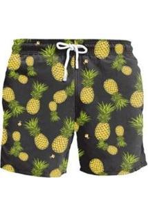 Bermuda L7 Pineapple - Masculino-Preto