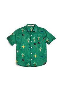 Camisa Chizu Est Chizu Verde Midori - 2
