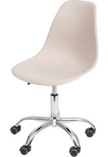Cadeira Eames Com Rodizio Polipropileno Fendi - 34048 - Sun House