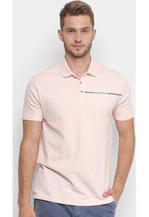 d650e7f7b4744 Netshoes. Camisa Polo Calvin Klein Estampada Logo Masculina ...