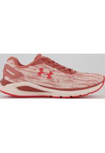Tênis Under Armour Charged Carbon Feminino Rosa Mescla