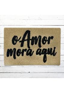 Capacho - O Amor Mora Aqui