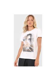 Camiseta Forum Deep Feelings Off-White