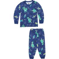 00d637424d0171 Pijama Para Menino Azul Brandili infantil | Shoes4you