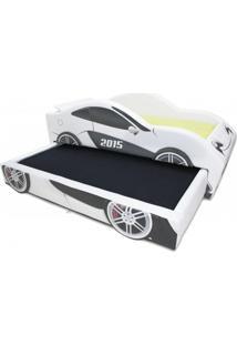 Bicama Scorpion - Cama Carro Branco