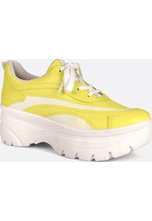 Tênis Feminino Chunky Sneaker Listras Dakota