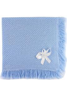 Manta De Tricot Michelle Baby Azul Claro.. - Tricae
