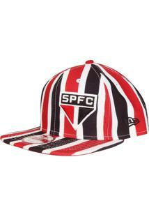 3def775b16e9d Boné New Era São Paulo Aba Reta 950 Of St Stripes Masculino - Masculino