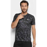 2d0adc3d69bc2 Camiseta Nike Miler Ss Pr Masculina - Masculino-Preto