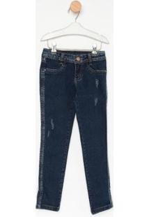 Calça Jeans Infantil Express Skinny Sara Feminina - Feminino