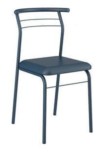 Cadeira Carraro 1708 Aço Color (2 Unidades) Azul / Azul