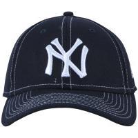 b88e7a8359321 Boné Aba Curva New Era 940 New York Yankees Hit - Snapback - Adulto - Azul