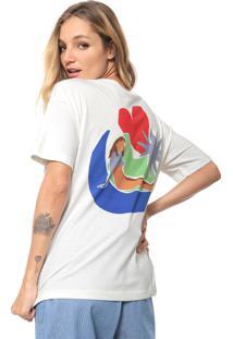 Camiseta Cantão Na Lua Off-White